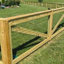 cheap dog fence idea 01